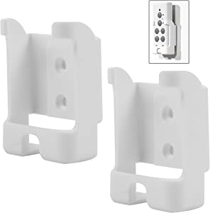 (2-Pack) Remote Control Holder Wall Mount for Etekcity Wireless Remote Control Outlet, Finduat Wireless Remote Control Outlet, B-Link Wireless Remote Control Outlet, and Syantek Remote Control Outlet