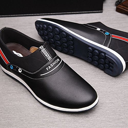 Boat Black No Town 1 on Slip Men's 66 Loafers Flats Driving Casual Shoes zzqa7FOw