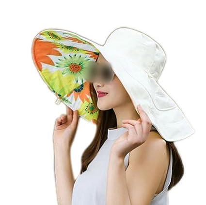 LOVEHATS Summer Large Brim Beach Sun Hats For Women UV Protection Caps Hat  With Big Head 71e746e6cba