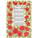 The New Jerusalem Tea Towel William Blake Poem Poetry Souvenir Gift England UK