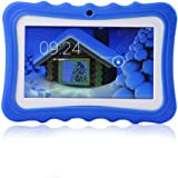 LayOPO Kids Tablet, 17,8 cm Kid Friendly Tablet 8 GB WiFi Kid Edition Tablet con Fotocamera Blue