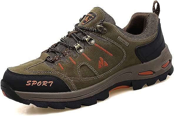 Zapatos de Deporte Trekking Hombre Caminar Transpirable Zapatillas de Senderismo Escalada: Amazon.es: Zapatos y complementos