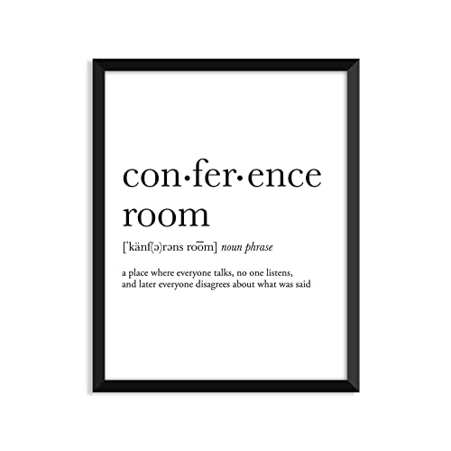amazon com conference room definition unframed art print poster rh amazon com