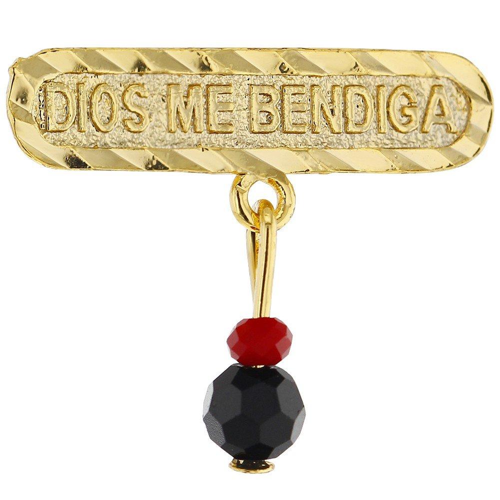Dios Me Bendiga Baby Pin Brooch Simulated Azabache Evil Eye Protection Newborn