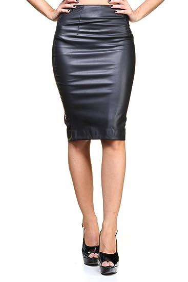 Guess Felicia SKIRT-W63D29W7L00, Falda para Mujer, Negro Noir/Jet ...