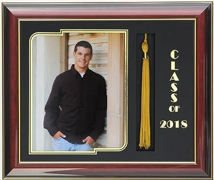 Amazon.com - Graduation frame 8x10 mahogany/black 2018 (Customizable ...