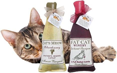 Amazon Com Alice S Cottage Wine Me Up Fun Catnip Toys Wine