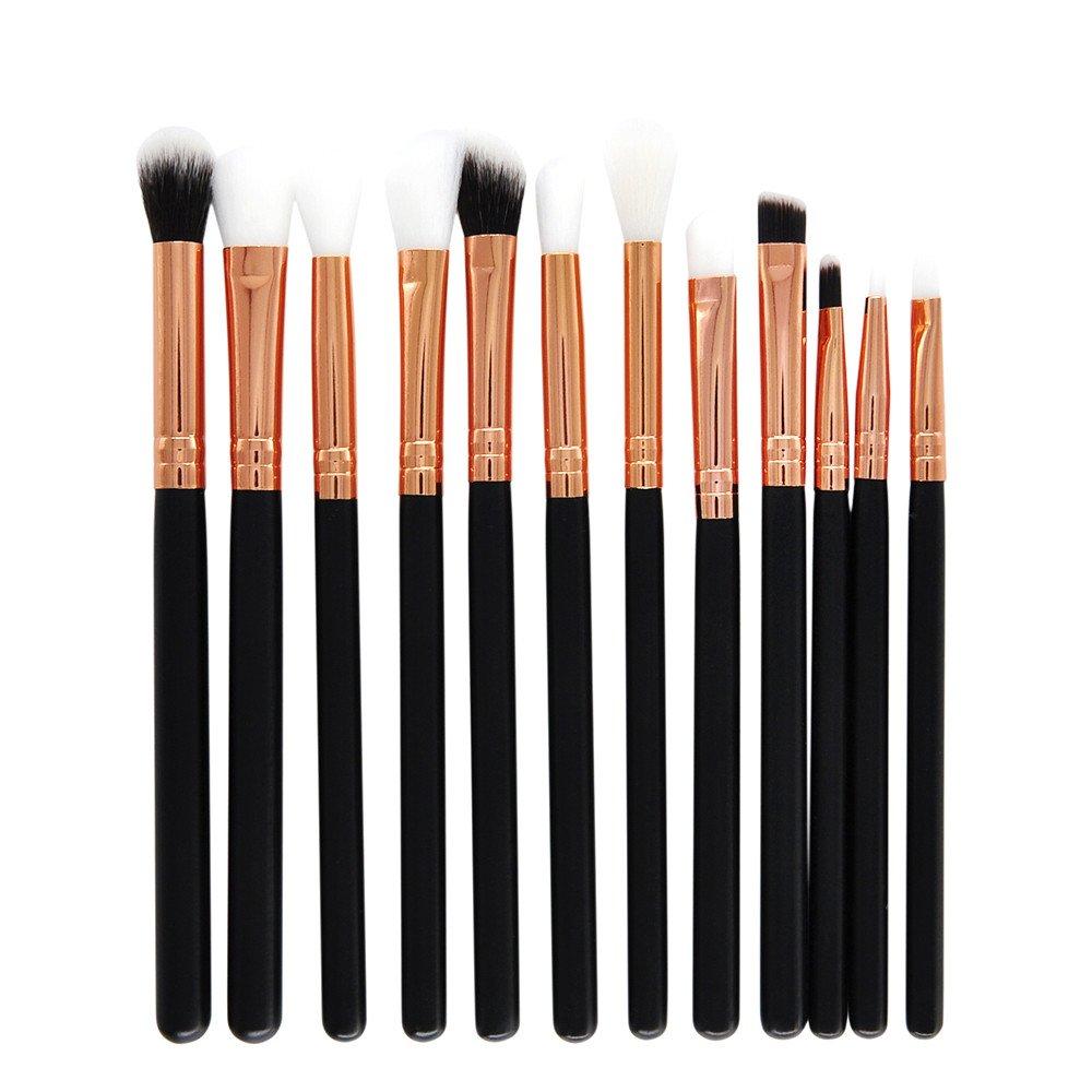 Muranba 2019 ! 12 Pcs Makeup Brush Set Professional Face Eye Shadow Eyeliner Foundation Blush