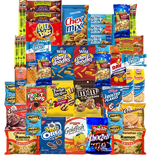 Ultimate College Care Package Snacks Assortment (40 Count) (Brownie Points Popcorn compare prices)
