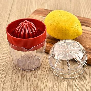 Grea 3 unids Manual Mini Pequeño Exprimidor de limón Juicer de Naranja Juicer de Frutas Juicer de Naranja Mini Juicer, 3: Amazon.es