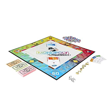 Monopoly for Millennials Bilingual English and French