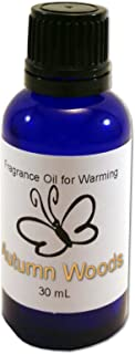 product image for Candlecopia Warming Oil, Cobalt Blue Glass Bottle with Euro Dropper Cap, 30 mL (1 oz) (Autumn Woods)