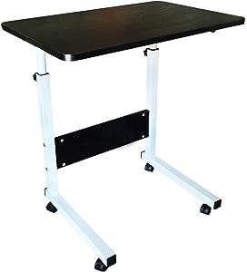 Laptop Desk, Home Office Desk, Student Desk, Adjustable Laptop Desk, Sofa Table, Mobile Bedside Table, Living Room Bedroom Table, Portable Breakfast Table(Black)