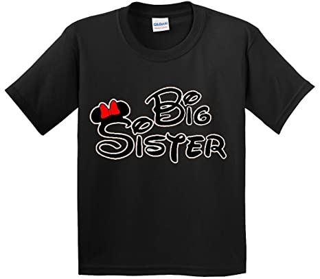 9f44f56f Amazon.com: New Way 554 - Youth T-Shirt MICKEY MOUSE BIG SISTER: Clothing