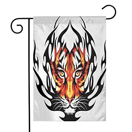 Amazon.com: Zmstroy Yard - Bandera, tatuaje, Brave Native ...