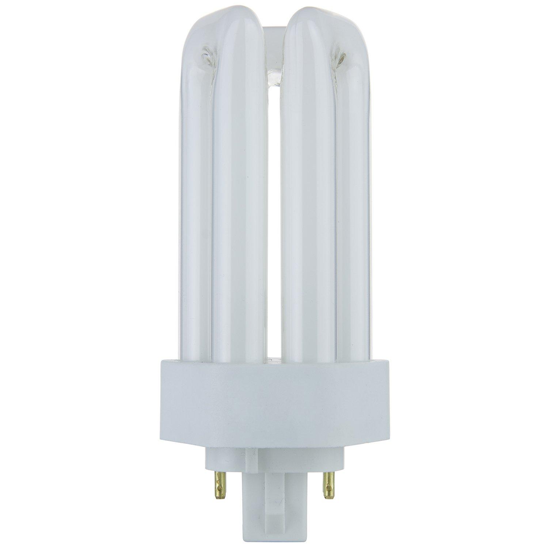 Sunlite PLT18 E SP35K 18 Watt Compact Fluorescent Plug In 4 Pin Light Bulb 3500K Color