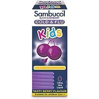 Sambucol Kids Cold and Flu Liquid, 120 mL