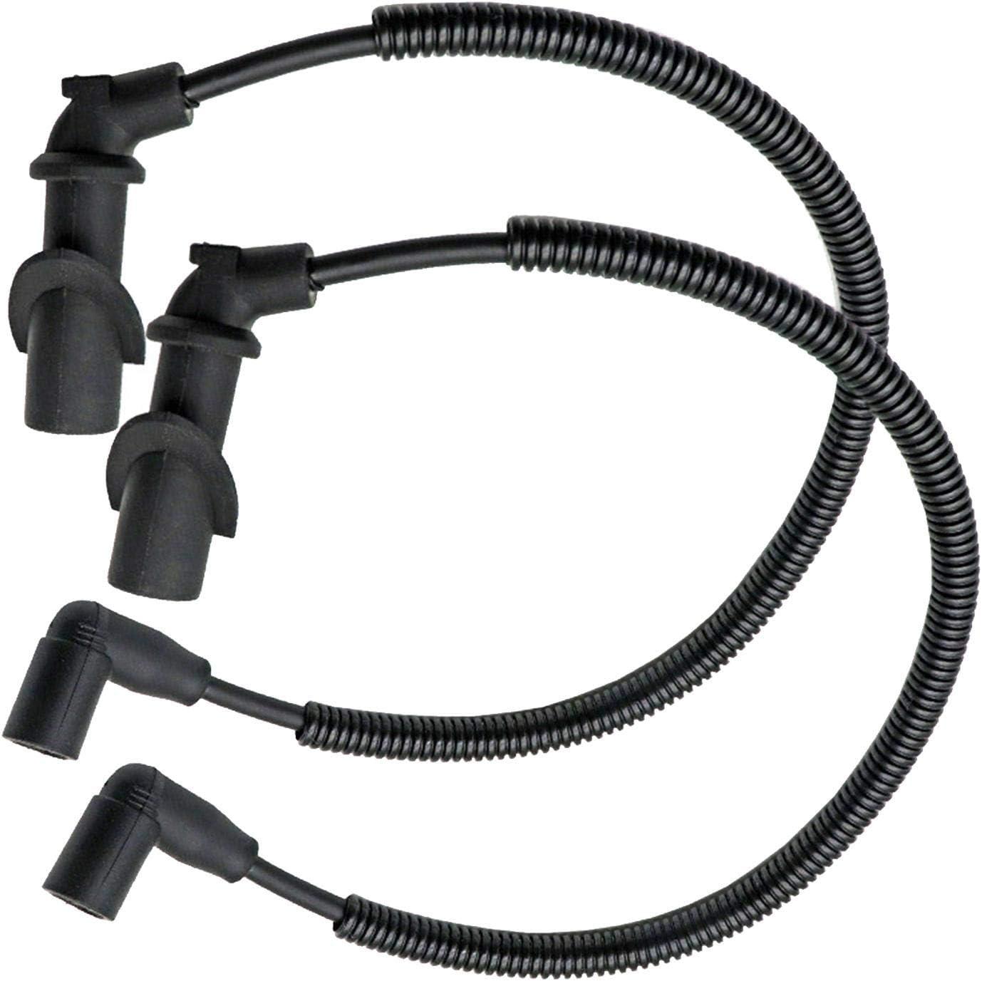 Compatible avec Ranger RZR 700 800 Minear Lot de 2 c/âbles de bougie dallumage Bobine dallumage