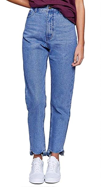 ba11ed5346f Elodiey Pantalones De Mezclilla para Mujer Pantalones Talle De Alto ...