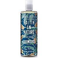 Faith In Nature Natural Blue Cedar Body Wash, Uplifting, Vegan & Cruelty Free, Parabenen en SLS-vrij, voor alle…