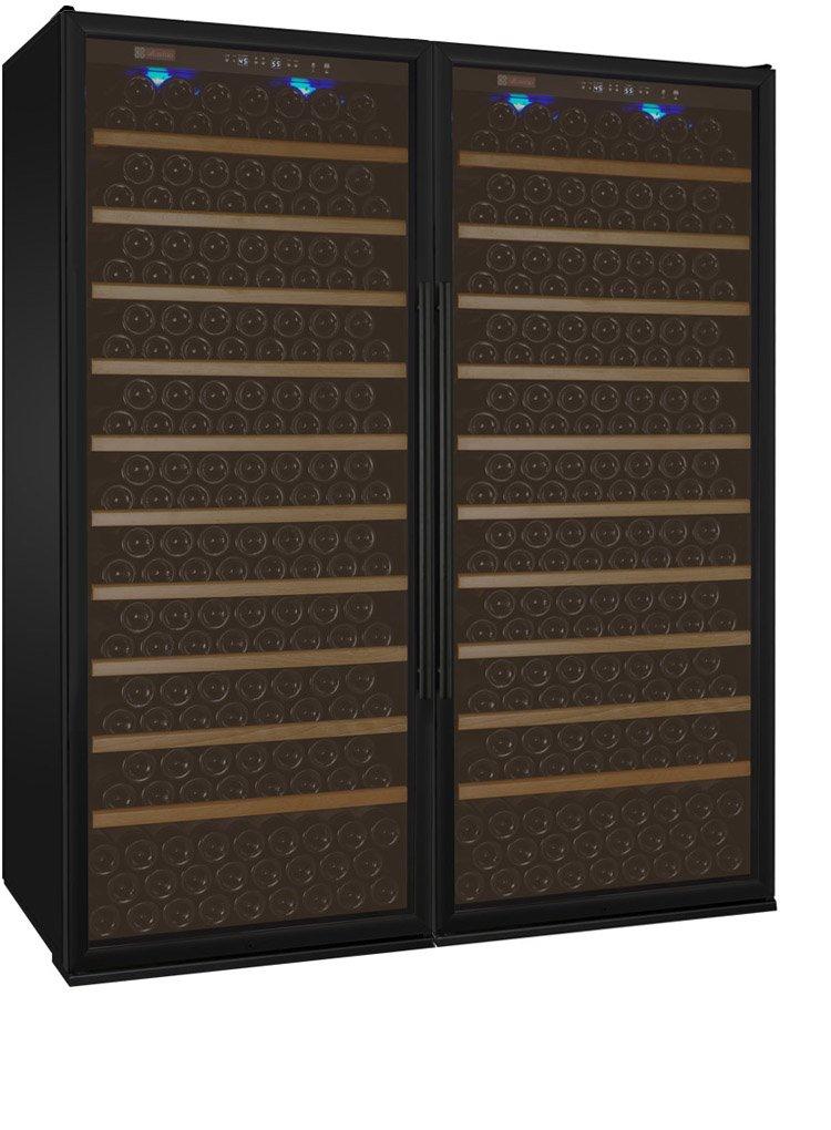 Allavino 2X-YHWR305-1BT Allavino 2X-YHWR305-1BT Vite Series 610 Bottle Dual-Zone Wine Refrigerator - Side-by-Side