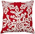 Sykting Throw Pillow Case 18x18 Christmas Pillow Cover set of 4 Pillow Cases Home Car Decorative
