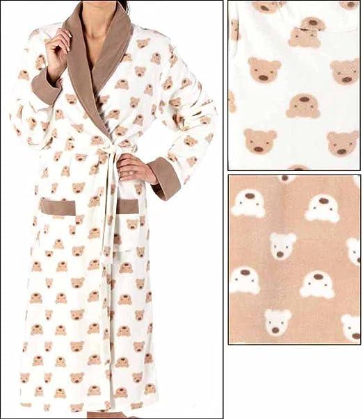 Selena albornoz para hombre ropa de descanso para niñas diseño de albornoz con capucha de piel