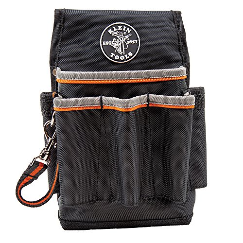 Tradesman Pro Tool Pouch, 6-Pocket Klein Tools 5241 Clip On Tool Pouch
