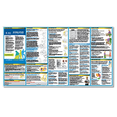 ComplyRight OSHA All-In-One-Safety Poster with GHS Updates