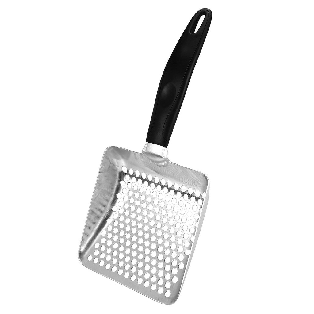 Metal Cat Litter ScoopMogoko Portable Huge Aluminum Pet Kitty Sifter Deep Sho...