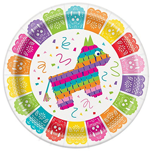 Mexican Fiesta Party Paper Plate, 8 Ct. ()