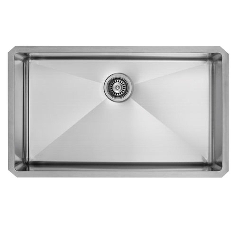 VIGO 32 inch Undermount Stainless Steel 16 Gauge Kitchen Sink with