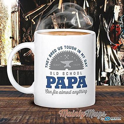 Papa Mug Birthday Gift For Old School