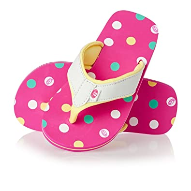 cd2424b1134d Animal Swish Girls Flip Flops - Neon Pink  Amazon.co.uk  Shoes   Bags