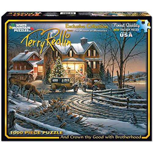 White Mountain Puzzles Crown Thy Good With Brotherhood - 1000 Piece Jigsaw Puzzle