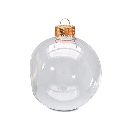 Amazon Com Darice Bulk Buy Diy Glass Ornament Clear Flat