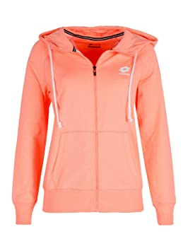 Lotto Smart Sweat FZ HD FT W - Sudadera, Mujer, Rosa(PNK ML BRG): Amazon.es: Deportes y aire libre