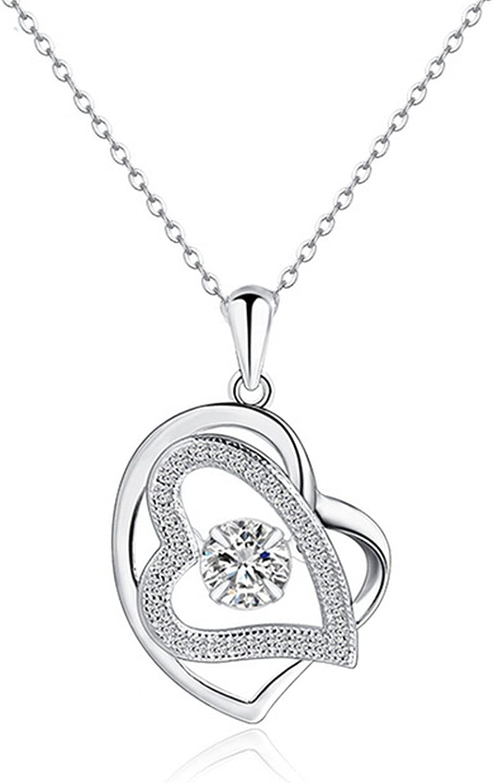 CS-DB Pendants Dancing Stone Star Silver Necklaces