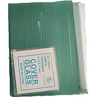Portaobjetos de microscopio en blanco 50PCS y cubierta