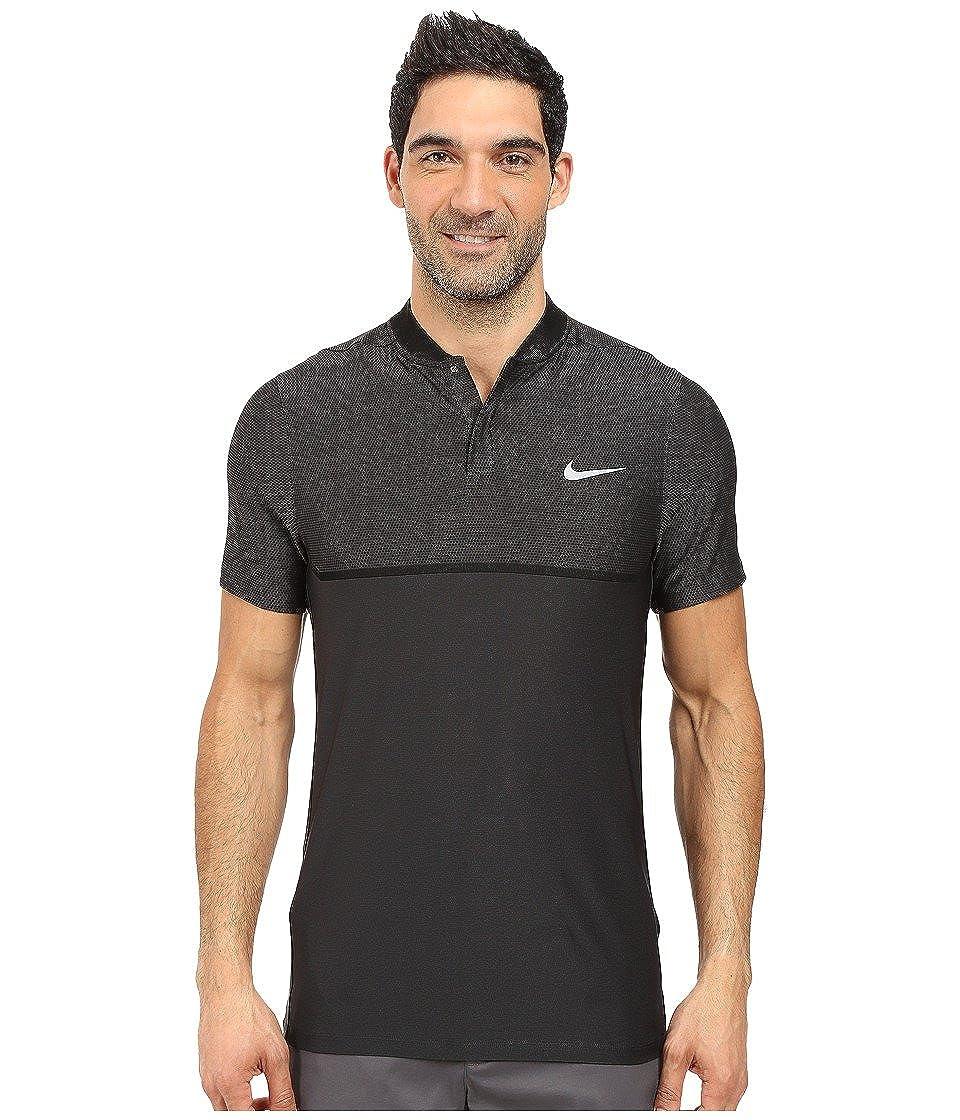 8950cde23 Amazon.com: Nike MM Fly Swing Knit Block Alpha Men's Slim Fit Golf Polo  Shirt: Sports & Outdoors