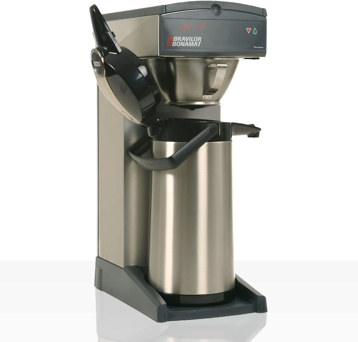 Máquina de café TH10, diseño antiguo, de Bonamat, incluye 2 jarras con vaso de vidrio: Amazon.es: Hogar