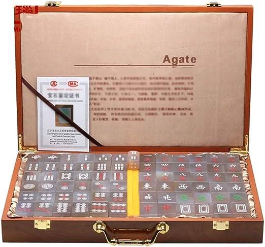 Mah Jong Baldosas Juegos de Mahjong Chino Set Juego de Mesa Chino ...