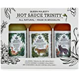 Queen Majesty Hot Sauce Trinity Sampler