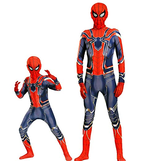 Spider-Man Avengers Ropa Personaje Cosplay Medias Disfraz De ...