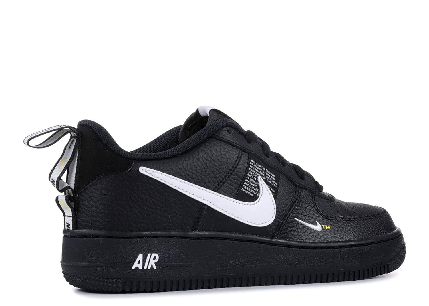f06160092c1 Amazon.com | Nike Air Force 1 Lv8 Utility Big Kids Style : AR1708-001 Size  : 6 M US | Sneakers