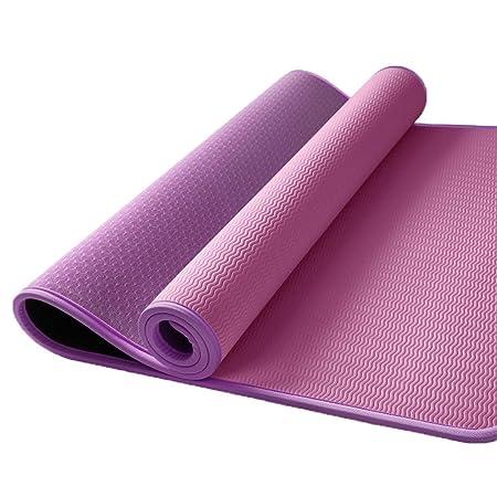 KYCD - Esterilla de Yoga para Principiantes de 10 mm con ...