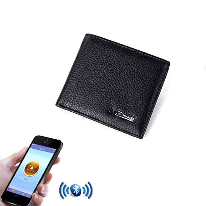 Amazon.com: Cartera inteligente Bluetooth con alarma y ...
