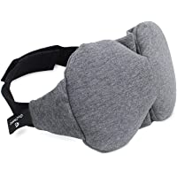 Cotton Sleep Mask, GoZheec Eye Mask for Sleeping Soft and Comfortable Blindfold Sleeping Mask for Woman and Man with Adjustable Strap, Ear Plug