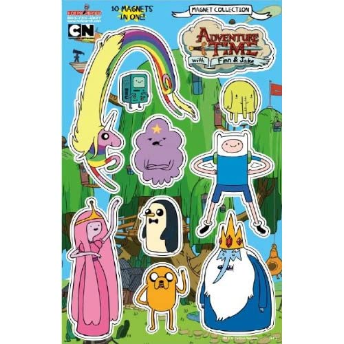 Top Adventure Time Magnet Collection for cheap
