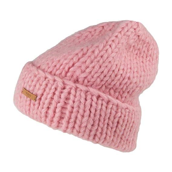 Barts Hats Cepheus Chunky Beanie Hat - Pink 1-Size 137b2e76deb9